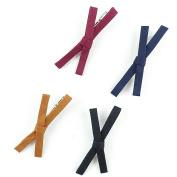 Xiaomei Multicolor Bows Hair Clips Hairdressing Salon Hair Grip Accessories Non-slip Hair Barrettes 4 Pcs