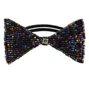 Tassel Dolorosa Hair Tie, Pewter