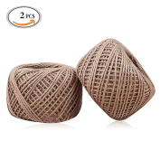 OR Pure 90m Natural Jute Twine Arts Crafts Rope Industrial Packing Materials Packing String Twine Industrial Packing Materials Durable Natural Twine For Gifts, DIY Crafts, Decoration, Bundling, Gardening