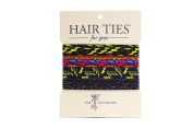 Hair Ties For Guys - The Shockers, No-damage Elastics for Men