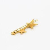 Simple stylish hair or bobby pin star design