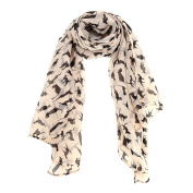 Datework Women Chiffon Wrap Shawl Scarf