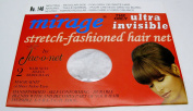 Neutral Mirage Ultra Invisible Stretch Fashioned Hair Net