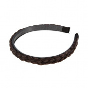 SBParts New Fashion Soft Extensions Stretchy Braided Faux Hair Plaits Headband Hairband
