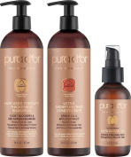 PURA D'OR Clinically Proven Professional Hair Loss Therapy Thickening Gift Set