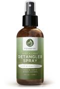 Foxbrim Soft & Light Detangler Spray - Nutrient Rich Leave-In Conditioner For Hair - Natural & Organic Ingredients - With Castor & Neem Oils, Aloe Vera & Vitamin E - 120ml