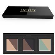 ShineMore Enchanted diamond six-colour eye shadow, Pro Eye shadow Palette Makeup kit, Matte + Shimmer 6 Colours