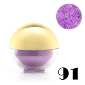 Baisidai 1 x Shimmer Pearl Loose Metallic Eyeshadow Powder Bright Eye Shadow Pigment Ball#91