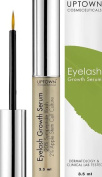 Uptown Cosmeceuticals Eyelash Growth Serum 3.5ml - Advanced Formula Contains Myristoyl Pentapeptide-17 & Apple Stem Cell Extract for Lashes and Eyebrows