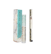 Pacifica Aquarian Gaze Water-Resistant Mascara Deep & Natural Eye Pencil Fringe Bundle with Kelp Extract and Coconut Oil, .740ml Mascara, .300ml Pencil