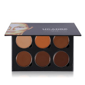 Ucanbe Cream Contouring Palette - Highlighting and Bronzer Makeup Kit / Concealer Pallet