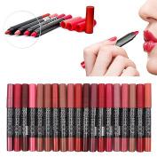 SHERUI 12pcs a set Make up Lipstick 12 Colours Waterproof Lip Liner Pencil Long Lasting Lipliner