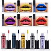 SHERUI 6 Colours Waterproof Long Lasting Vampire Style Makeup Lipstick Lip Gloss