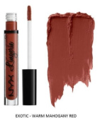 SEOWTOYS Factory Sealed NYX Lip Lingerie Liquid Matte Lipstick Shade Exotic Warm Mahogany Red