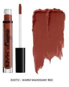 SEOWTOYS Factory Sealed NYX Lip Lingerie Liquid Matte Lipstick Shade Exotic Warm Mahogany Red