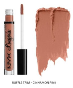 SEOWTOYS Factory Sealed NYX Lip Lingerie Liquid Matte Lipstick Shade Ruffle Trim Cinnamon Pink