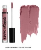 SEOWTOYS Factory Sealed NYX Lip Lingerie Liquid Matte Lipstick Shade Embellishment Muted Purple