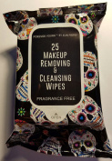 Makeup Removing & Cleansing Wipes Day of the Dead Halloween Theme