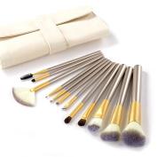 Rosabeauty 12/18/24pcs Professional Makeup Brushes Set Woman's Foundation Powder Eyeliner Lip Beauty Tools Brush + Leather Case