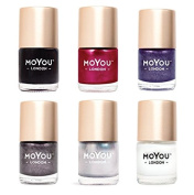 MoYou London Stamping Nail Lacquer Bundle 01