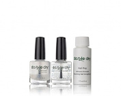 Dazzle Dry Trio Base Coat - Top Coat - Thinner