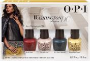 OPI Washington D.C. 4 Pc Mini Package of 12