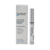 NuPeptin Lengthening Eye Lash Serum - stimulates lash growth. For visibly thicker and longer eyelashes.