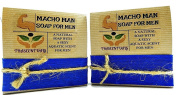 Macho Man Soap For Men Comes In Gift Box Handmade With Natural Ingredients Like Coconut Oil and Kaolin Clay