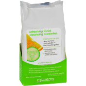 Giovanni Facial Cleansing Towelettes - Refreshing Citrus and Cucumber - 30 Towelettes