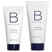 Beautycounter Fresh Start Set Nourishing Cream Cleanser(45ml) and Nourishing Day Cream