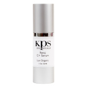 Organic Vitamin C+ 9x Hyaluronic Acid Serum | Fine Lines Wrinkles Dark Spots | Superior Collagen Production | Spa Quality | Renu C+ with Proprietary DermaNu Anti-Ageing Technology by KPS Essentials