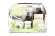 Deluxe Spa Travel Body Pack Gift Set Fresh Mint Quinoa