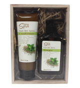 Deluxe Spa Body Pack Gift Set Fresh Mint Quinoa