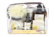 Deluxe Spa Travel Body Pack Gift Set Frangipani & Vanulla Beans