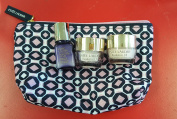 Estee Lauder 4PC Resilience Lift Firming/Sculpting Face Cream & Eye Cream & Perfectionist CP+R Serum Plus Cosmetic Bag Set