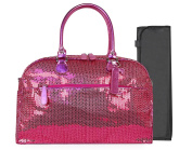 Trumpette Schleppbags Nappy Bag in Fuchsia Sequin, Large