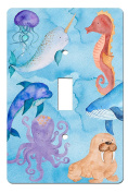 Ocean Dreams Sea Life Under Water Wonders Beach Theme Nautical Decor