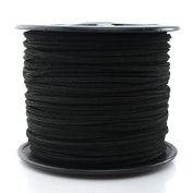 T & B 3mm Faux Suede Cord Flat Lace Leather String 100 yd/roll for Jewellery Making