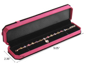 Bestwoohome Velvet Flocked Jewellery Gift Boxes for Ring Earrings Necklace Displays