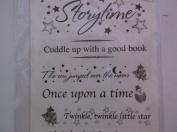 Miss ElizabethNursery Rhymes Clear Sentiment Stickers