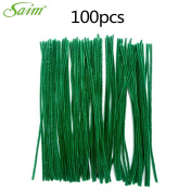 Saim Pipe Cleaners Chenille Stems 30cm for Creative Handmade Arts and Crafts, Pack of 100