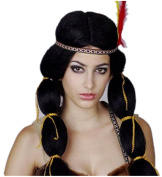 Belly dance Queen of India Harajuku style for Carved wig Bangs Piece Braids fluffy hair for Lady