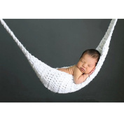 Newborn Photography Props Hammock Handmade Crochet Knitted Outfit photoprop