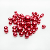 Red Pearl Beads