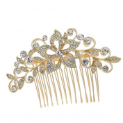 Flower Girl Crystal Rhinestone Bridal Wedding Hair Comb Hair Pins Hair Jewellery Accessories 2235R