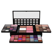Joly Full Colours Makeup Combination Case Eyeshadow Palette Concealer Lip Trimming Blush Plate Foldable Telescopic Cosmetic Box