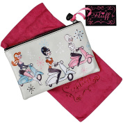 Fluff Scooter Girls - Cosmetic Bag