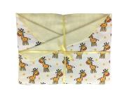 Happy Giraffes Baby Blanket Blanket for Boys or Girls. Great for Newborn or Toddler. Baby Gift.