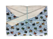 Charming ChooChoos Baby Blanket Blanket for Boys. Great for Newborn or Toddler. Baby Gift.