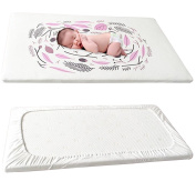 NinkyNonk Baby and Toddler Boys and Girls Cotton Fitted Crib Sheet